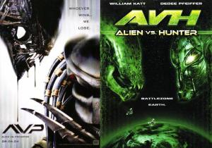Alien VS Predador e Alien VS Hunter