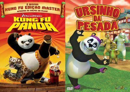 Kung Fu Panda e Ursinho da Pesada